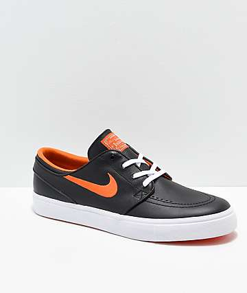 Nike SB x NBA Janoski Black & Orange Skate Shoes