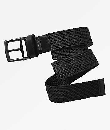 Nike Stretch Black Woven Belt