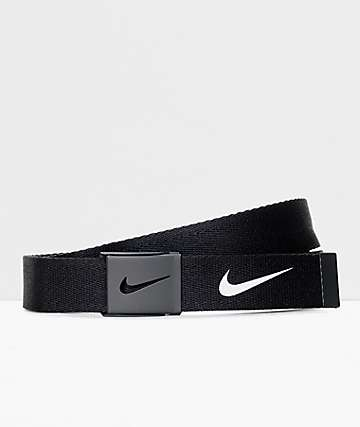 Nike Tech Essentials Black Web Belt