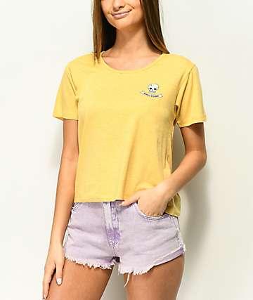 Nikita Neo Skull Marigold T-Shirt
