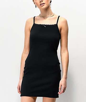 Nikki Erin Cami Black Tank Top Bodycon Dress
