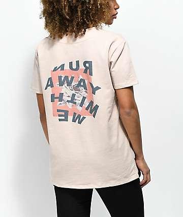 Ninth Hall Ava Run Away Khaki Baseball Jersey