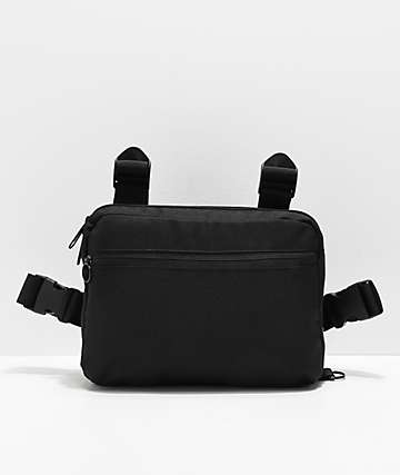 Ninth Hall Black Chest Bag