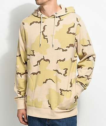 Ninth Hall Blend Desert Camo Pullover Hoodie