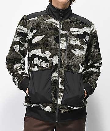 Ninth Hall Bluster chaqueta de polar técnico de camuflaje
