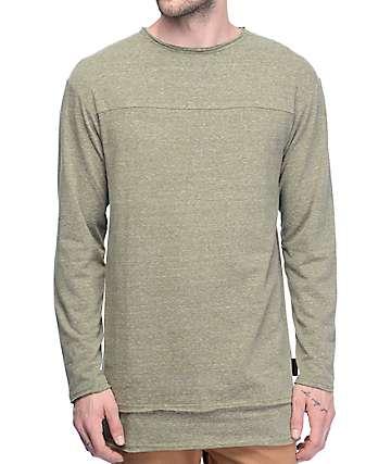 Ninth Hall Cedar Olive Long Sleeve T-Shirt