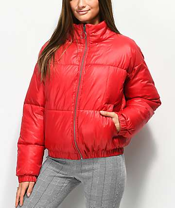 Ninth Hall Chance chaqueta roja aislada