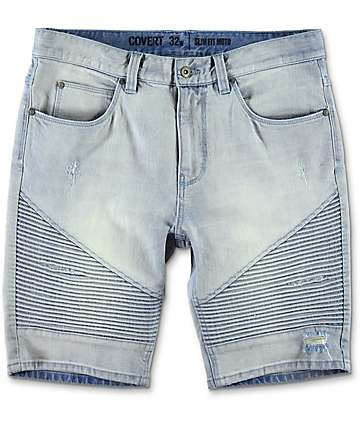 Ninth Hall Covert shorts moto