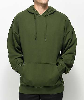 Ninth Hall Descend Green Hoodie