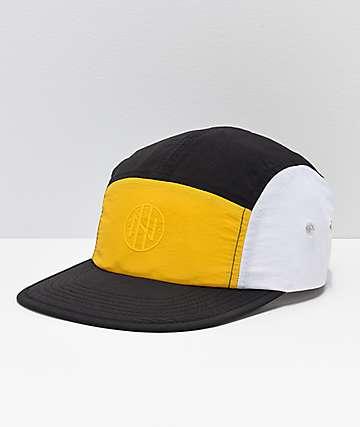 Ninth Hall Geoffrey gorra amarilla, negra y blanca