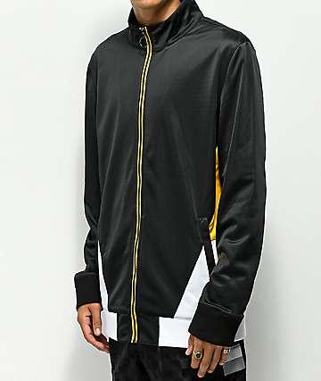 Ninth Hall Geoffry chaqueta amarilla y negra con cremallera