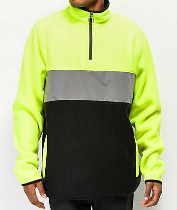 Ninth Hall Green, Silver & Black Arctic Tech Fleece