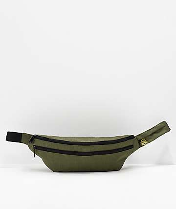 Ninth Hall Green & Black Fanny Pack