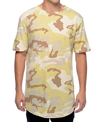 Ninth Hall High Rise Desert Camo T-Shirt