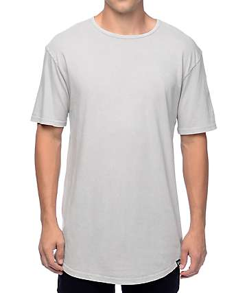 Ninth Hall High Rise Light Grey Wash T-Shirt