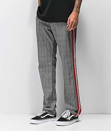 Ninth Hall Highland Grey Plaid Chino Pants