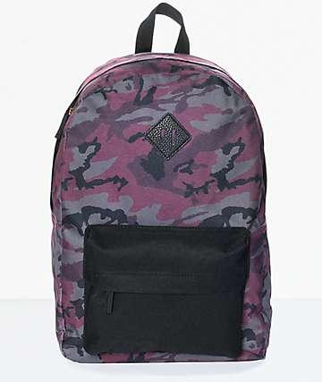 Ninth Hall Kylie Purple Camo Backpack