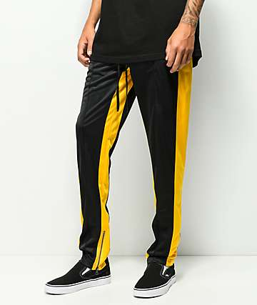 Ninth Hall Nordberg Black & Yellow Track Pants