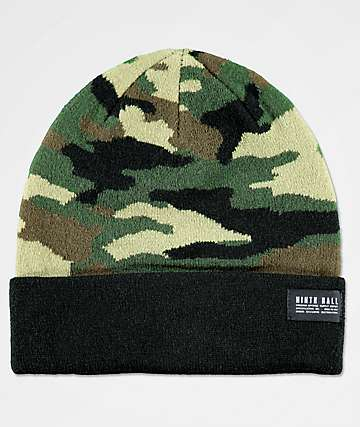 Ninth Hall OMAC Army Camo Beanie