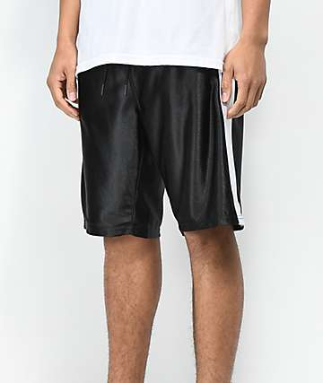 Ninth Hall Rodney Black & White Basketball Shorts