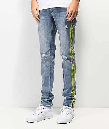 Ninth Hall Rogue Celcius Reflective Skinny Fit Jeans