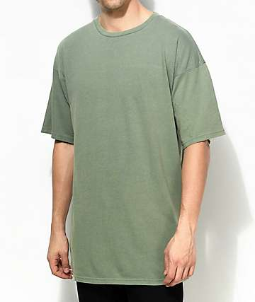 Ninth Hall Ruxon Boxy Green T-Shirt