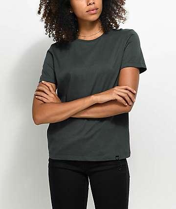 Ninth Hall Rylie Chic camiseta ancha en color plomo