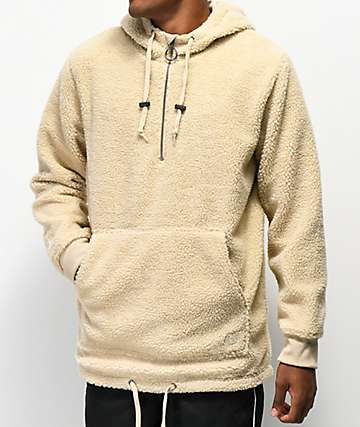 3bdbdb54 Ninth Hall Summit Sherpa Half-Zip Tech Hoodie