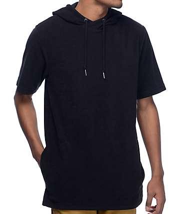 Ninth Hall Track camiseta negra con capucha