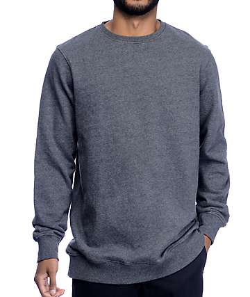Ninth Hall Troop Charcoal Crew Neck Sweatshirt