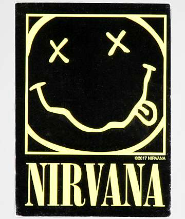Nirvana Smile Face Sticker