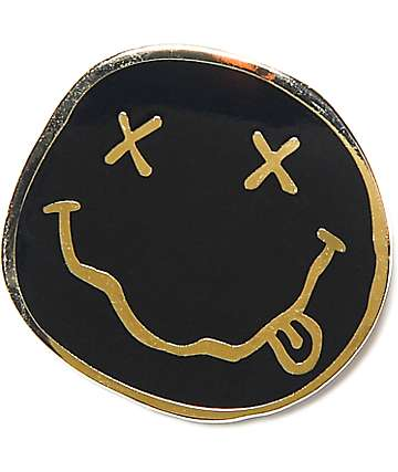 Nirvana Smile broche
