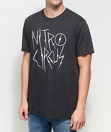 Nitro Circus Voltage camiseta negra