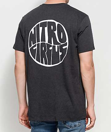 Nitro Circus Wave Black T-Shirt