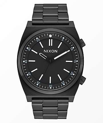 Nixon Brigade Black Analog Watch