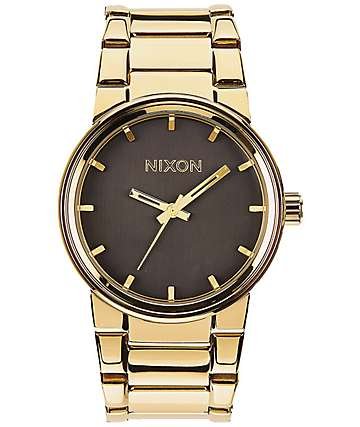 Nixon Cannon All Gold & Black Watch