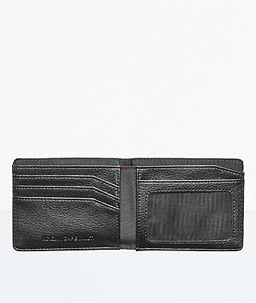 Nixon Cape Black Bifold Wallet
