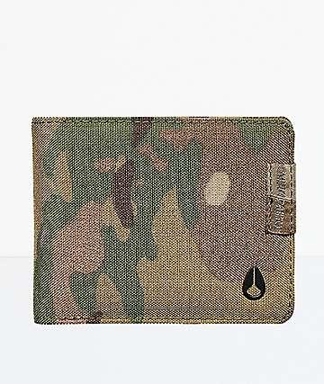 70df6973d18f65 Nixon Cape Camo Bifold Wallet