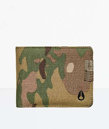 Nixon Cape Multicam Bifold Wallet