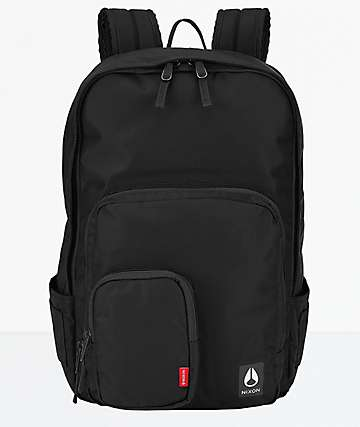 Nixon Daily 30L Black Nylon Backpack