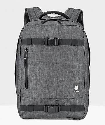 Nixon Del Mar II Charcoal Heather Backpack