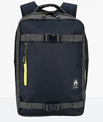 Nixon Delmar II Navy & Yellow Backpack