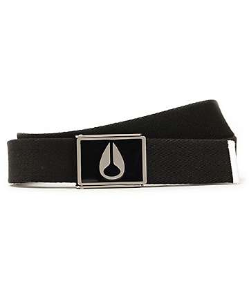 Nixon Enamel Wings Black Web Belt