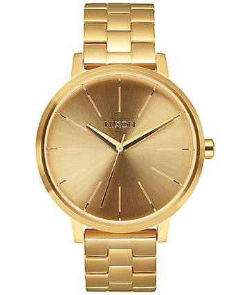 Nixon Kensington All Gold Analog Watch