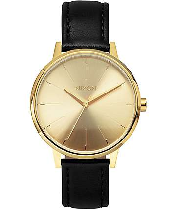 Nixon Kensington Leather Analog Watch