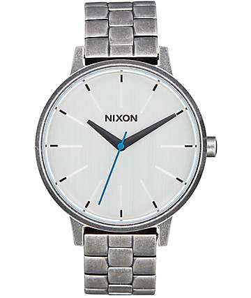 Nixon Kensington Silver Antique Watch