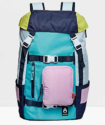 Nixon Landlock 80's Multi Color 30L Backpack