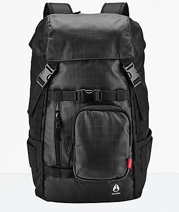 Nixon Landlock Black Backpack