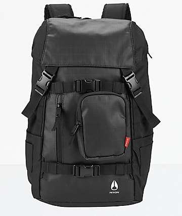 Nixon Landlock Black Backpack