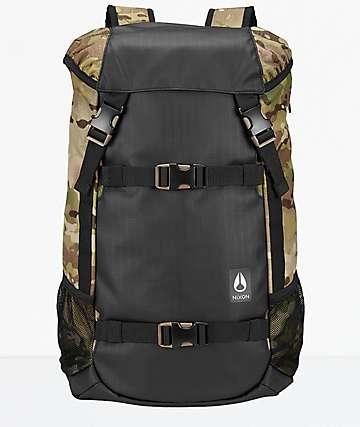 Nixon Landlock III Multicam 33L Backpack